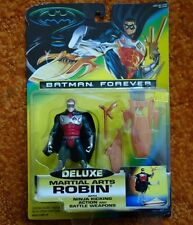 1995 Kenner Batman Forever Deluxe Martial Arts Robin Action Figure