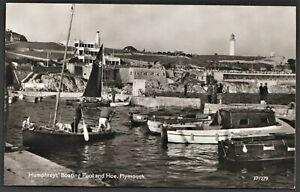 PLYMOUTH postcard Humphreys' Boating Pool & Hoe