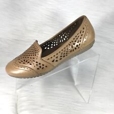 Cobb Hill by New Balance Women's 8.5 W Loafers Brown Cut Out