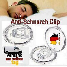 Magnets Clip Silikon Anti Schnarchen Hilfe Schnarchstopper Nasenclip Nasensprer