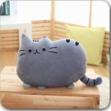 Big Cute Cat Shape Pillow Cushion Plush Soft Toy Doll Home Sofa Decoration New