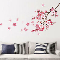 Flowers Removable Wall Stickers Decal Art Vinyl Floral Mural Home Room.Decor DIY