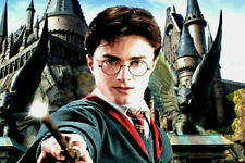 Toile sur Chassis Harry Potter création artisanal N° 3