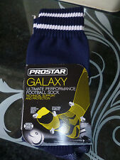 PROSTAR NAVY  GALAXY ULTIMATE PERFORMANCE FOOTBALL SOCKS / COMFORT SUPPORT 12/2