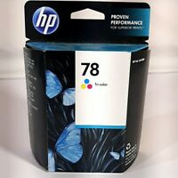 HP 78 Tri-Color Original Ink Cartridge New Sealed Expired April 2016 C6578dn