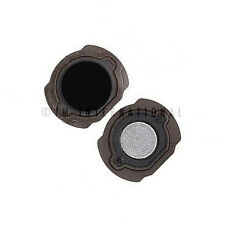 iPod Touch 4th Gen Black Home Menu Button with Holder Rubber Replacement Part