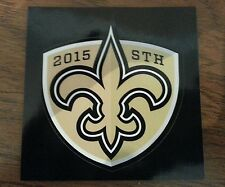 NEW ORLEANS SAINTS 2015 SEASON TICKET HOLDER STICKER STH