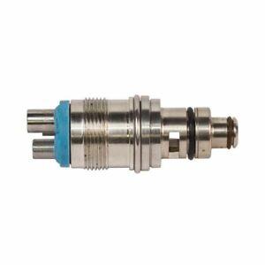 Star Type Fiber Optic Swivel Adapter Coupling fit 4 Hole & 5 Hole handpiece