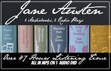 Jane Austen Six Audiobooks Over 87 Hours on DVD