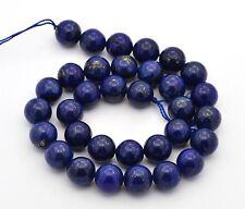 60 Edelstein Achat Perlen Natur Schmucksteine Lapis Blau 4mm MODE G794#2