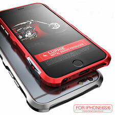 Luphie Aluminum Metal Shockproof Heavy Duty Bumper Case Cover For iPhone 6 7Plus