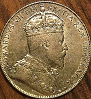 1903H CANADA SILVER 50 CENTS COIN - Excellent example!