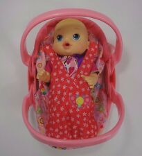 Hasbro Baby Alive Carrier Back Pack Car Seat and Doll