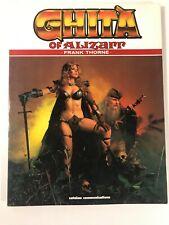 Ghita of Alizarr: Ghita of Alizarr by Frank Thorne.1985 Paperback