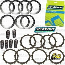 Apico Clutch Kit Steel Friction Plates & Springs For Yamaha YZ 250 2002-2017 MX