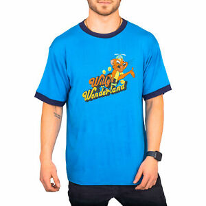Willy's Wonderland The Janitor Blue T-shirt