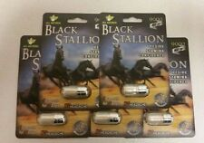 Black Stallion 9000 Male Sexual Enhancement 7 Days 3D AUTHENTIC 5 pack