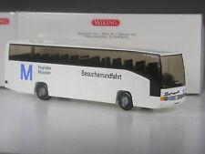 TOP: Wiking Werbemodell Mercedes Bus Flughafen München Besucherrundfahrt in OVP