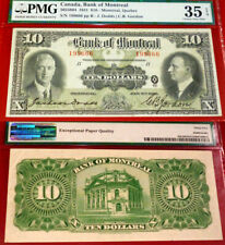 The Bank of Montreal - 1931 $10 -PMG VF35