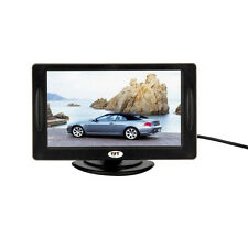 "4.3"" Color TFT LCD Rearview Car Monitors DVD GPS Reverse Backup Camera Driving"