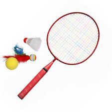 Spielen Spiele SPORTS Federball Schläger Set Kinder Badmintonschläger (Rot) #R