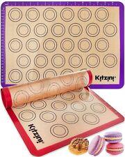 New listing Macaron Silicone Baking Mats - Two Half Non Stick Sheet Mats - Large Bpa Free Pr