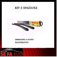 KIT 2 SPAZZOLE TERGICRISTALLO BOSCH AEROTWIN ALFA ROMEO MITO (955) 3397007466