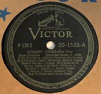 Duke Ellington 78 RPM Record Stompy Jones Delta Serenade RCA Victor Jazz VG+ 41