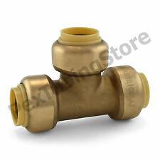 10 12 Sharkbite Style Push Fit Push To Connect Lead Free Brass Tees