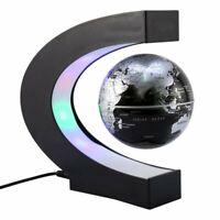 Mini Planet Erde mit Schwebefunktion, Schwebeglobus mit LED Beleuchtung, Schwebe