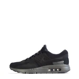 Nike Air Max Zero QS Men's Casual Gym Training Shoes Trainers Black/Grey