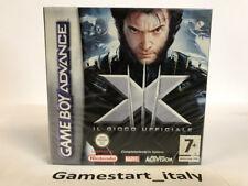 X-MEN IL GIOCO UFFICIALE - GAME BOY ADVANCE GBA - VIDEOGIOCO NUOVO SIGILLATO PAL
