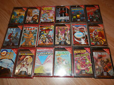 Mastertronic GIOCHI RARO JOB LOTTO of 18 GIOCHI COMMODORE 64 C64 Cassetta GIOCHI