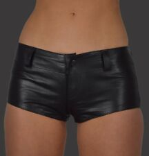 AW-162 Damen Hot pants,ledershorts Hüft Hose Mini Shorts,leder Shorts,Kurze Hose