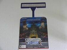 PROFESSOR LAYTON VS. PHOENIX WRIGHT SHEILF DANGER PROMO DISPLAY ZELDA MARIO