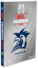 BRAND NEW NRL Premiers 2018 - Sydney Roosters Grand Final DVD R4
