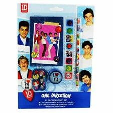 I LOVE ONE DIRECTION - 5 PIECE STATIONERY GIFT SET - SCHOOL / COLLEGE / NEW
