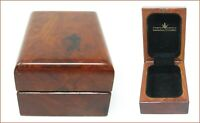 Scatola orologio lucien rochat in legno vintage box watch wood lucien rochat clo