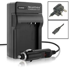 Mains & Car Charger for Nikon EN-EL5 P5100 P6000 P510 P530 COOLPIX S10 Battery