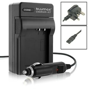 Mains & Car Charger for Canon NB-4L NB-4LH IXUS 115 130 220 230 255 HS Battery