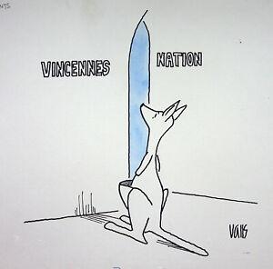 [Funny - Press] Guy Valls - Trip, Kangaroo À Paris - Drawing Original Signed