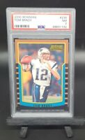 TOM BRADY RC 2000 Bowman Rookie Card #236 NE Patriots - PSA 7 NM Near Mint GOAT