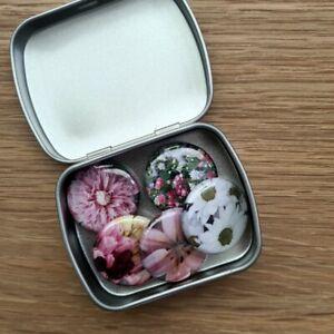 Fridge Magnets Memo Magnetic Flower Whiteboard Set Gift Box Bag Pack Floral
