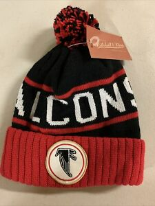 NFL NWT official Atlanta Falcons knit pompom winter hat #304