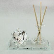 DLM25651 Profumatore in vetro per Battesimo Trasparente (kit 6 pezzi) bomboniera