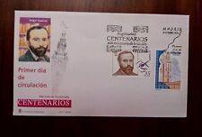 SPD FDC SOBRE PRIMER DIA ESPAÑA 1998 CENTENARIO ÁNGEL GAVINET Y GIRALDA SEVILLA