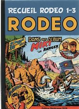 RODEO. l'intégrale en fac-similé Tome 1, n°1 à 3 LUG de 1951. Cartonné dos toilé