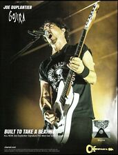 Gojira Joe Duplantier Signature Charvel Pro-Mod San Dimas guitar 8 x 11 ad print