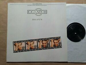 C. C. CATCH - BIG FUN -  LP - GERMANY 1988