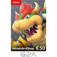 Nintendo eShop Tarjeta Prepago 50 EUR - Switch WiiU Código €50 ES